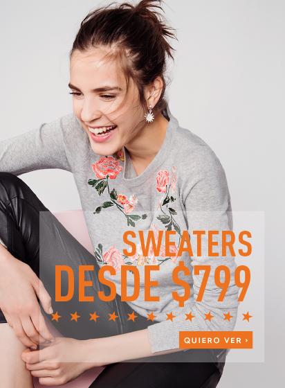 Rebajas Sweaters