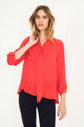 2c37df503f0c Moda - Camisas Blusas de Vestir Rojo – Desktop